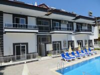 Relax in pool view Ground Floor apartment in wonderful Fethiye, close to weekly market & transport