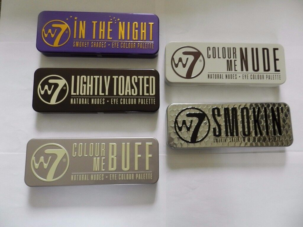 W7 In the night smokey shades eye colour pallette