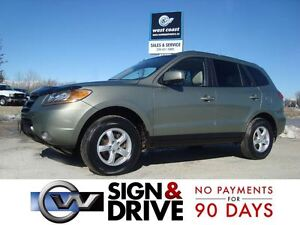 2009 Hyundai Santa Fe GLS 3.3L AWD *Htd Leather & Sunroof*