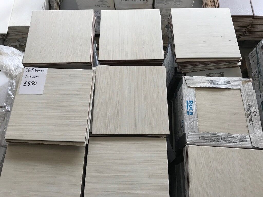BEIGE FLOOR TILE 33X33 JOB LOT | in Leckwith, Cardiff ...