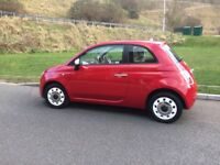 Fiat 500 Colour Therapy. FSH, MOT until March 19, Air conditioning, low Road tax, good runner