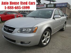 2008 Hyundai Sonata V6 Limited, GLS, leather, sunroof