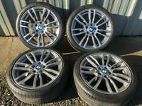 Bmw 3-4 series m sport 19 inch alloy wheels