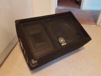 Yamaha SM10V passive floor monitor speaker