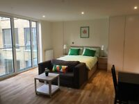 Brand new studio apartment in Limehouse, close to Canary wharf and good transport links-TG