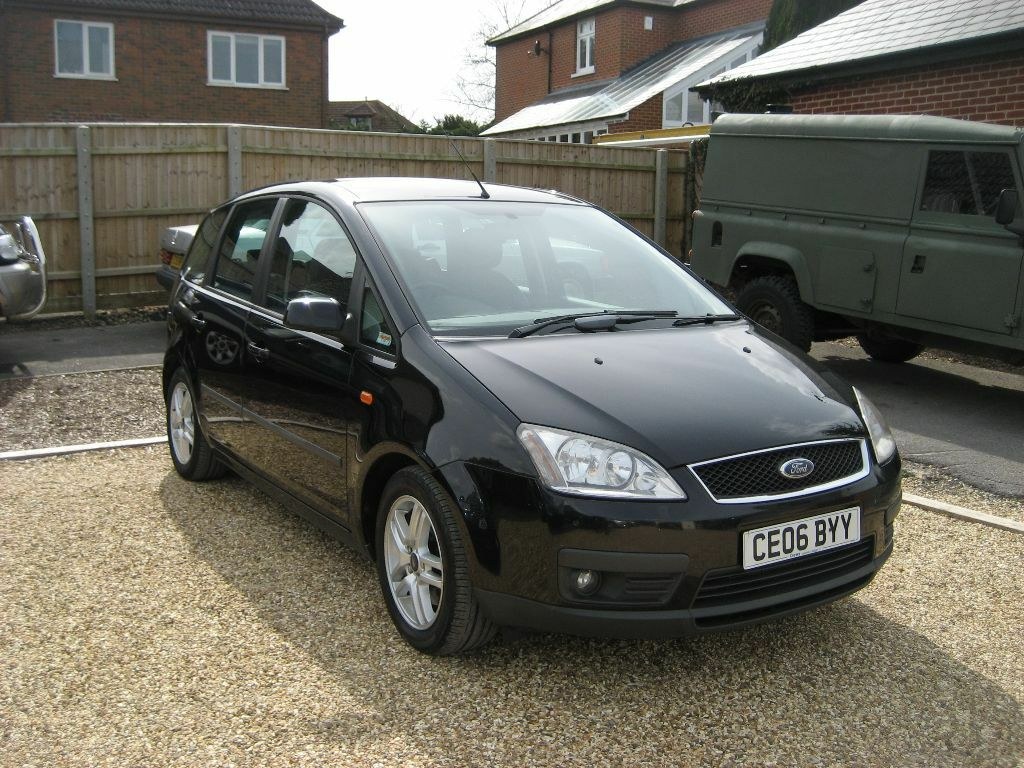 ford focus c max 2 0 tdci 5 door hatchback 2006 in metallic black in poole dorset gumtree. Black Bedroom Furniture Sets. Home Design Ideas