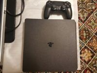 1 TB ps4 slim with all leads and controller