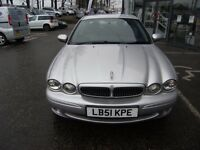 2002 51 JAGUAR X-TYPE 2.5 V6 SPORT 4d 195 BHP **** GUARANTEED FINANCE **** PART EX WELCOME****