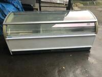 Commercial chest freezer for shop cafe restaurant takeaway pizza ksjwjshw