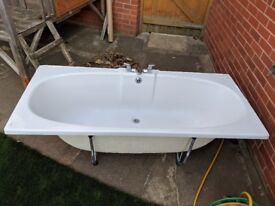 Twyford white bath - 1700mm