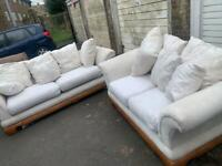 Lovely 2&3 fabric sofa