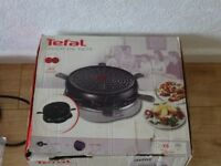 new - never used - Tefal hot plate with six small pans - tefal jour de fete extra cooker for xmas