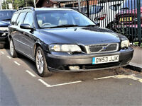 V 70 - CHEAP -- Volvo V70 AUTO 2.4 D5 SE Diesel -- CREAM LEATHER -- Great Spec -- Part Exchange OK