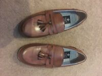 Brown leather size 3