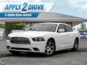 2014 DODGE CHARGER SXT LOADED WITH LEATHER SUNROOF AND MORE