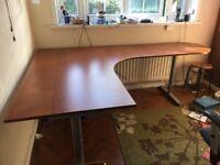 """Office Corner Desk """"Galant"""" by Ikea"""