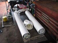 GAS BOILER VENTILATION PIPES