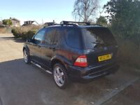 2002 Mercedes AMG ML 270Cdi 7 Seater Automatic