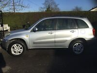 Toyota RAV4 2.0 4x4 mot full year very good condition 2003