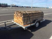 90 Wooden Planks (8 feet long) from £3