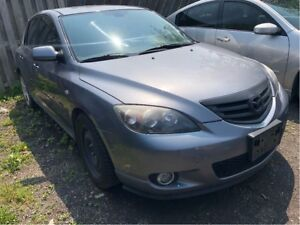 2004 Mazda Mazda3 GS SELLING AS IS!! NICE LOCAL TRADE