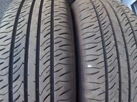 Volvo alloy wheels and tyres almost new tyres