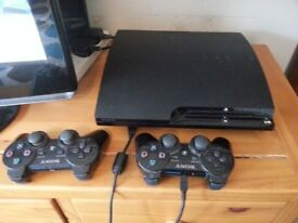 PS3 Bundle.. 120Gb Slim Console. 29 Games. Turtle Beach Headset. 2 Controllers... not xbox ps4