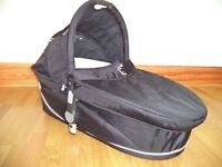 icandy Apple carry cot - black - immaculate condition