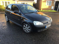 VAUXHALL CORSA 1.2 2002 SXI BLACK (NOT POLO, MINI, ASTRA, GOLF, A3)