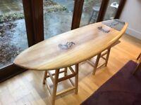 Surf board - Firewire Timbertek Round Nose Fish 5ft 8 - Mint condition