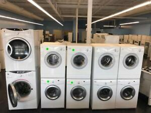 WASHER & DRYER STACKABLE APARTMENT SIZE & FULL SIZE ON SALE FREE DELIVERY UNTIL SUNDAY