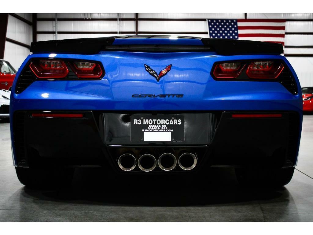 2019 Blue Chevrolet Corvette Grand Sport 2LT   C7 Corvette Photo 4