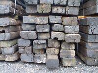 Reclaimed Softwood Railway Sleepers | Grade B | Garden | Rustic 2600 x 240 x 140