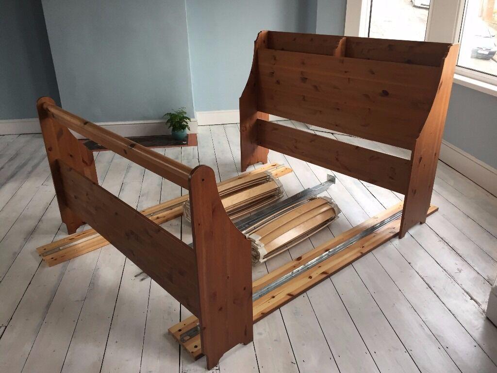 IKEA Leksvik King Size bed