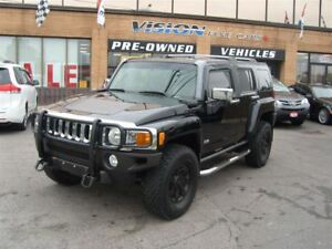 2006 Hummer H3 TWO TONE LEATHER SUNROOF NAVIGATION