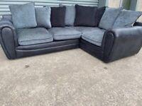 Grey corner sofa, couch, suite, furniture 🚛🚚🚛