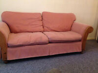 ** FREE Red 2 seater sofa **