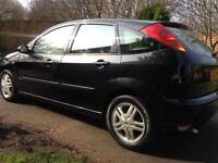 2004 FORD FOCUS 1.8 TDCI 1 year mot low miles may px swap