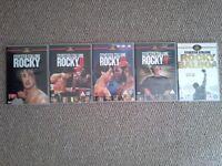 Rocky DVD's - set of 5