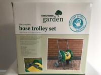 25M complete Garden Hose Trolley Set