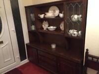 Dresser - antique solid wood.