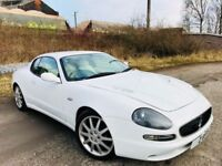 White Maserati 3200 GT px automatic Ferrari engine
