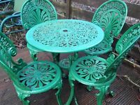 selection of good garden furniture selling due to house move