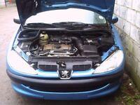 1999 Peugeot 206 1.4 8 valve (Breaking)
