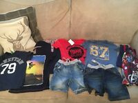 Boys summer bundle age 4-5 shorts,