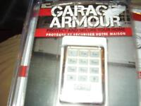 Gararge Armour Door Opener Remote and Kit New in Package
