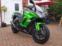 2015 Kawasaki Z1000SX Full Kawasaki Service History