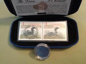 1998 Canada The Loon Stamp and Coin Commemorative Set RCM