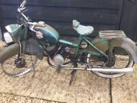 Barn find French motorbike follis