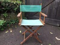 Vintage Canvas Directors Chair